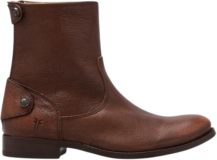 Frye Melissa Button Zip Short Boot
