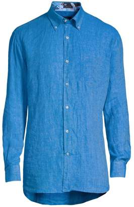 Paul & Shark Fisherman Woven Button-Down Shirt