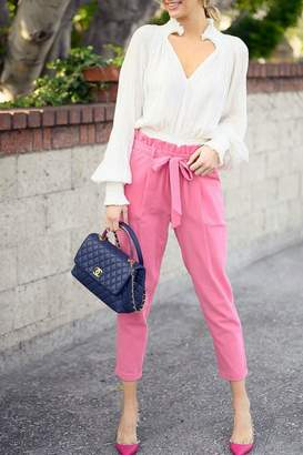 FAVLUX High-Waisted Ankle Pants