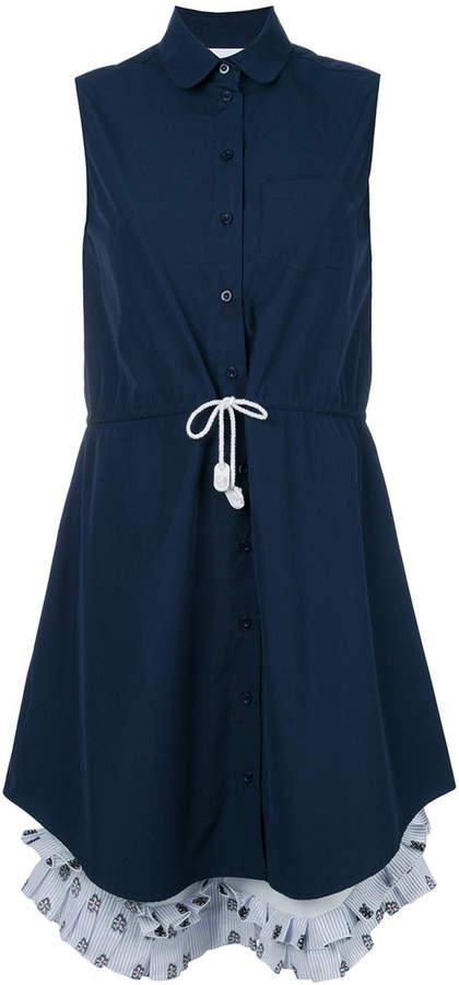Jimi Roos sleeveless shirt dress
