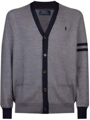 Polo Ralph Lauren Stripe Detail Cardigan