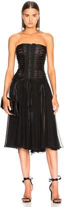 Dolce & Gabbana Corset Tank Dress