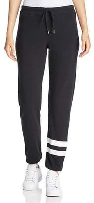 Andrew Marc Graphic-Stripe Sweatpants