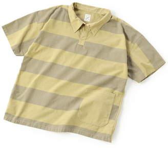Men's Bigi (メンズ ビギ) - ADITIONAL [リメイク商品]ラインシャツ/製品染め メンズ ビギ シャツ/ブラウス