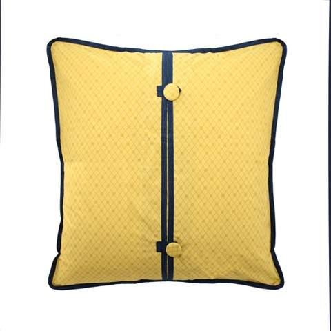Yellow Geometric Rhapsody Sham (Euro)