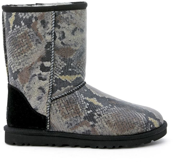UGG Ugg Mod. Classic Short Python Printed Ankle Boots