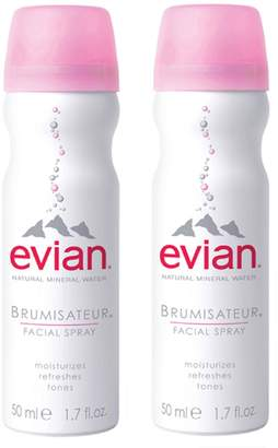 Evian R) Mini Facial Water Spray Duo