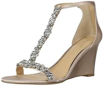 Badgley Mischka Jewel Women's Meryl Wedge Sandal