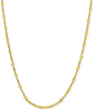 "Giani Bernini Twisted 20"" Chain Link Necklace in 18k Gold-Plated Sterling Silver, Created for Macy's"