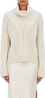 Nili Lotan Women's Eve Cashmere Turtleneck Sweater $1,095 thestylecure.com