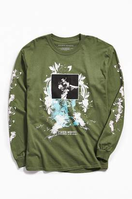 Urban Outfitters Shawn Mendes Floral Long Sleeve Tee