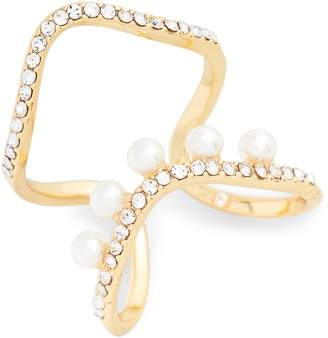 Vince Camuto G-Double Row Ring