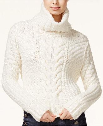 TOMMYXGIGI Cable-Knit Turtleneck Sweater $225 thestylecure.com