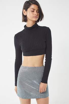 Urban Outfitters Moonbeam Jersey Mini Skirt