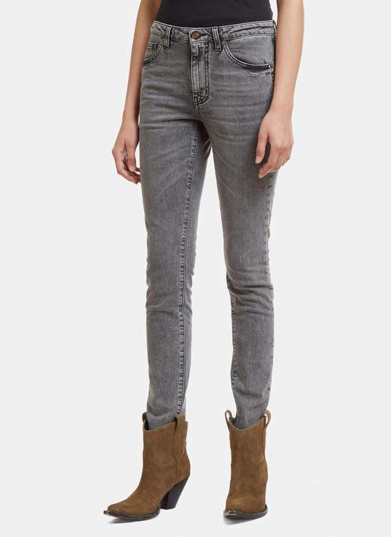 Skinny Fit Jeans in Black