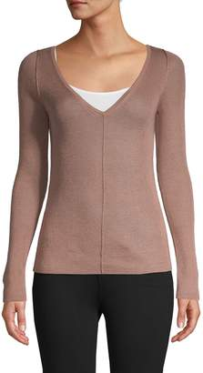 Max Mara Silk & Cashmere-Blend Sweater