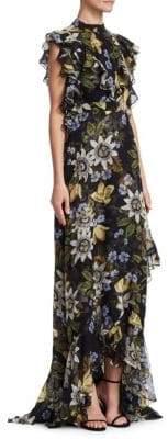 Erdem Riva Silk Gown