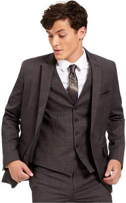 INC International Concepts Inc Men Slim-Fit Crosshatch Suit Jacket