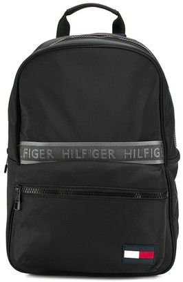 Tommy Hilfiger logo tape backpack
