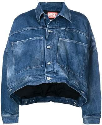 Diesel Red Tag SOJK02 cropped jacket