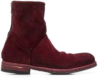 Pantanetti zipped ankle boots