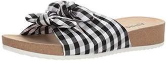 Anne Klein Women's Quilt Slide Sandal
