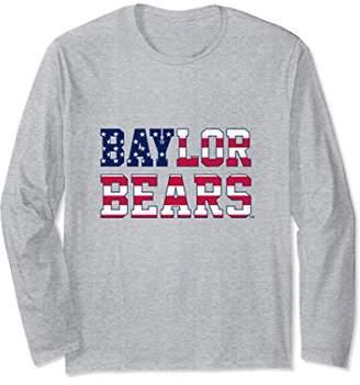 NCAA Baylor Bears Women's College Long Sleeve Tee 05ACABAY