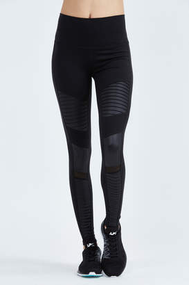 Alo High Waisted Moto Legging