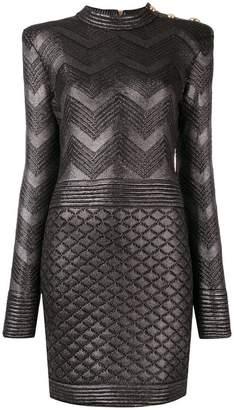 Balmain long-sleeved dress