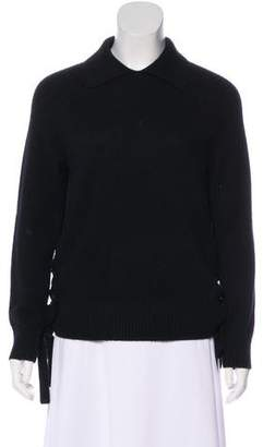Frame Cashmere Long Sleeve Sweater