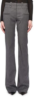 Altuzarra Pinstripe Straight-Leg Wool-Blend Pants