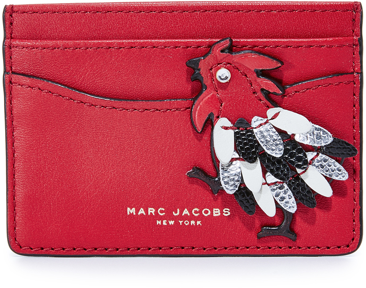 Marc JacobsMarc Jacobs Fire Rooster Card Case