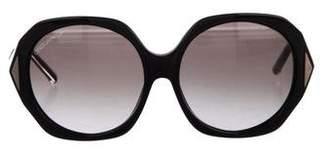 DSQUARED2 Round Gradient Sunglasses