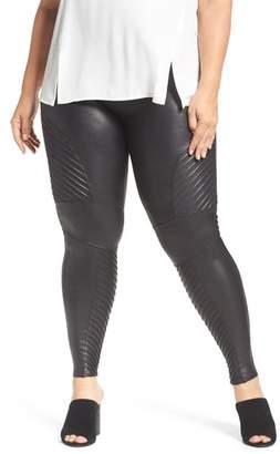 Spanx R) High Waist Moto Leggings
