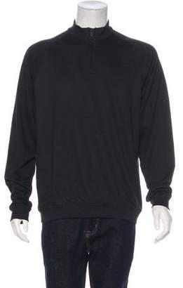 Burberry Knit Half-Zip Sweater w/ Tags