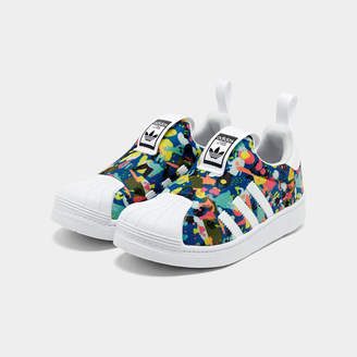 ae87e82b3 at Finish Line · adidas Girls' Little Kids' Superstar 360 Casual Shoes