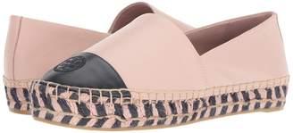 Tory Burch Color Block Platform Espadrille Women's Shoes