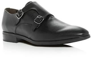 To Boot Men's Benjamin Leather Monk Strap Oxfords