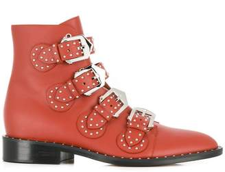 Givenchy Elegant buckled ankle boots