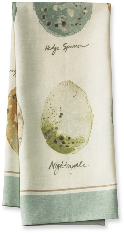 Williams-Sonoma Egg Botanical Print Towels, Set of 2
