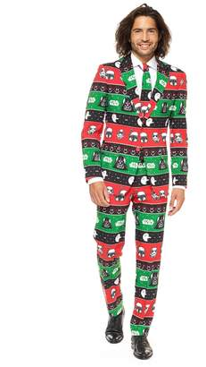 Star Wars Opposuits Men's OppoSuits Slim-Fit Festive Force Suit & Tie Set