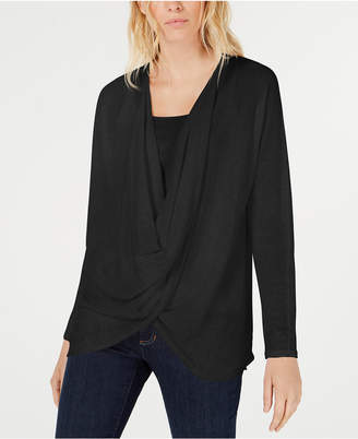 Eileen Fisher Organic Draped Sweater