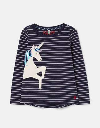 Joules Ava Applique T-Shirt 1-12 Years