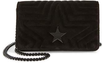 Stella McCartney Mini Velvet Star Crossbody Bag