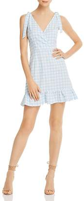 The Fifth Label Nouveau Gingham Ruffled Mini Dress