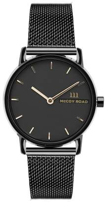 McCoy Road Watches Unisex Mesh Bracelet Watch, 33mm