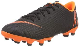 new styles 386b7 f39cd Nike Unisex Kids  Jr. Mercurial Vapor XII Academy Mg Footbal Shoes, (Black