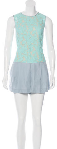 3.1 Phillip Lim 3.1 Phillip Lim Lace Sleeveless Romper w/ Tags