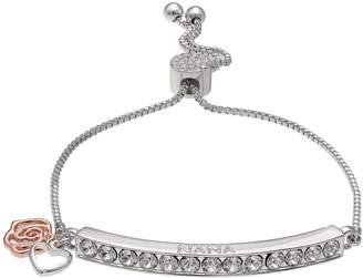 "Brilliance+ Brilliance ""Nana"" Adjustable Bracelet with Swarovski Crystals"