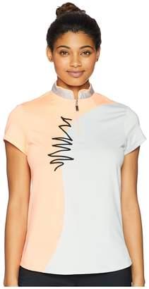 Jamie Sadock Embroidered Short Sleeve Top Women's Short Sleeve Pullover